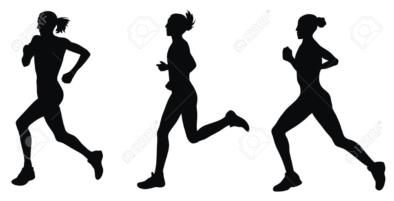 Runner Silhouette Clip Art Free Duration of use