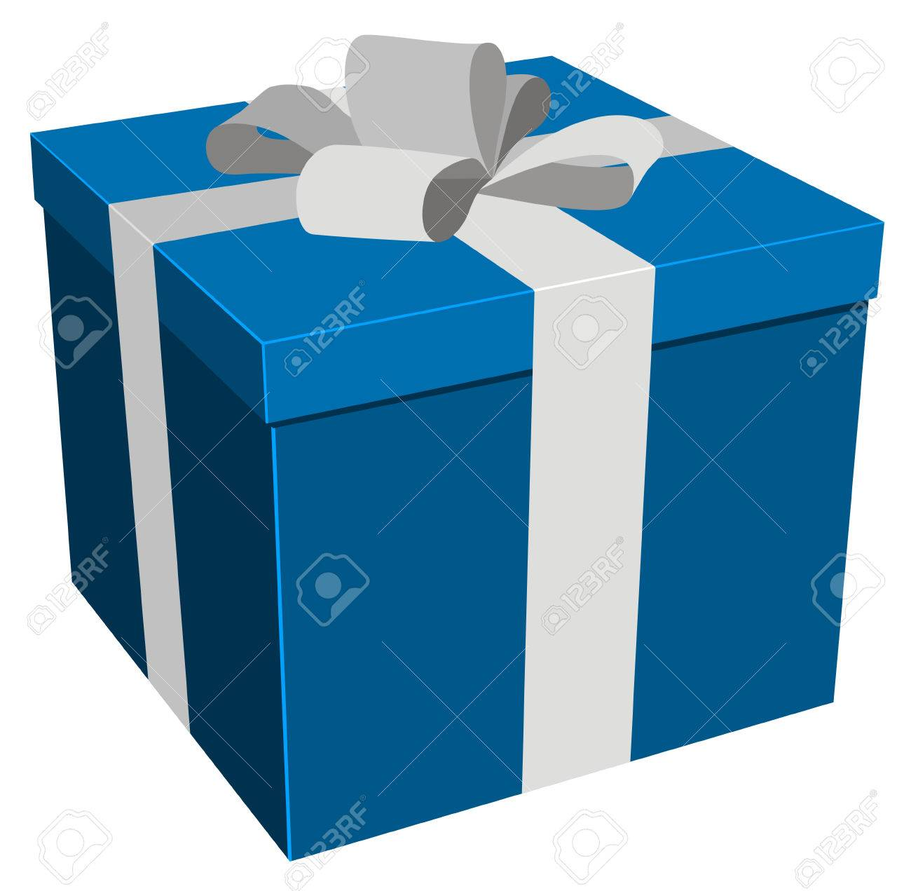 illustration of christmas/birthday gift Stock Vector - 8133142