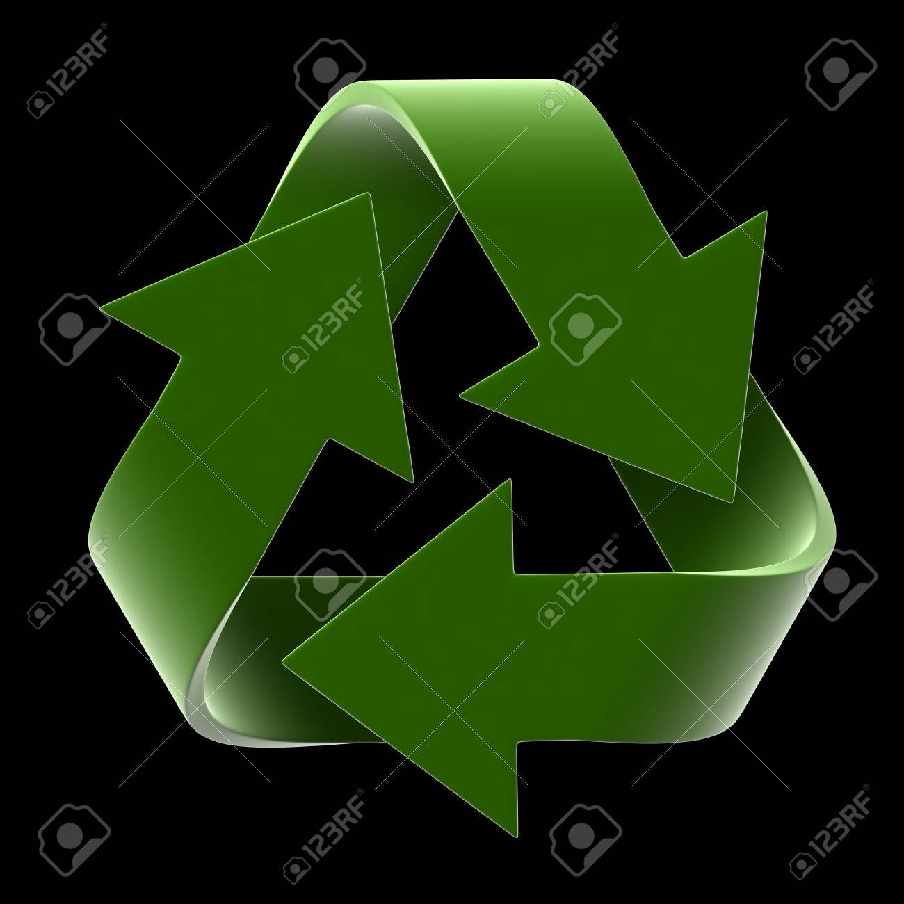 3d render of recycle symbol isolated on black background stock 3d render of recycle symbol isolated on black background stock photo 33886623 biocorpaavc Gallery