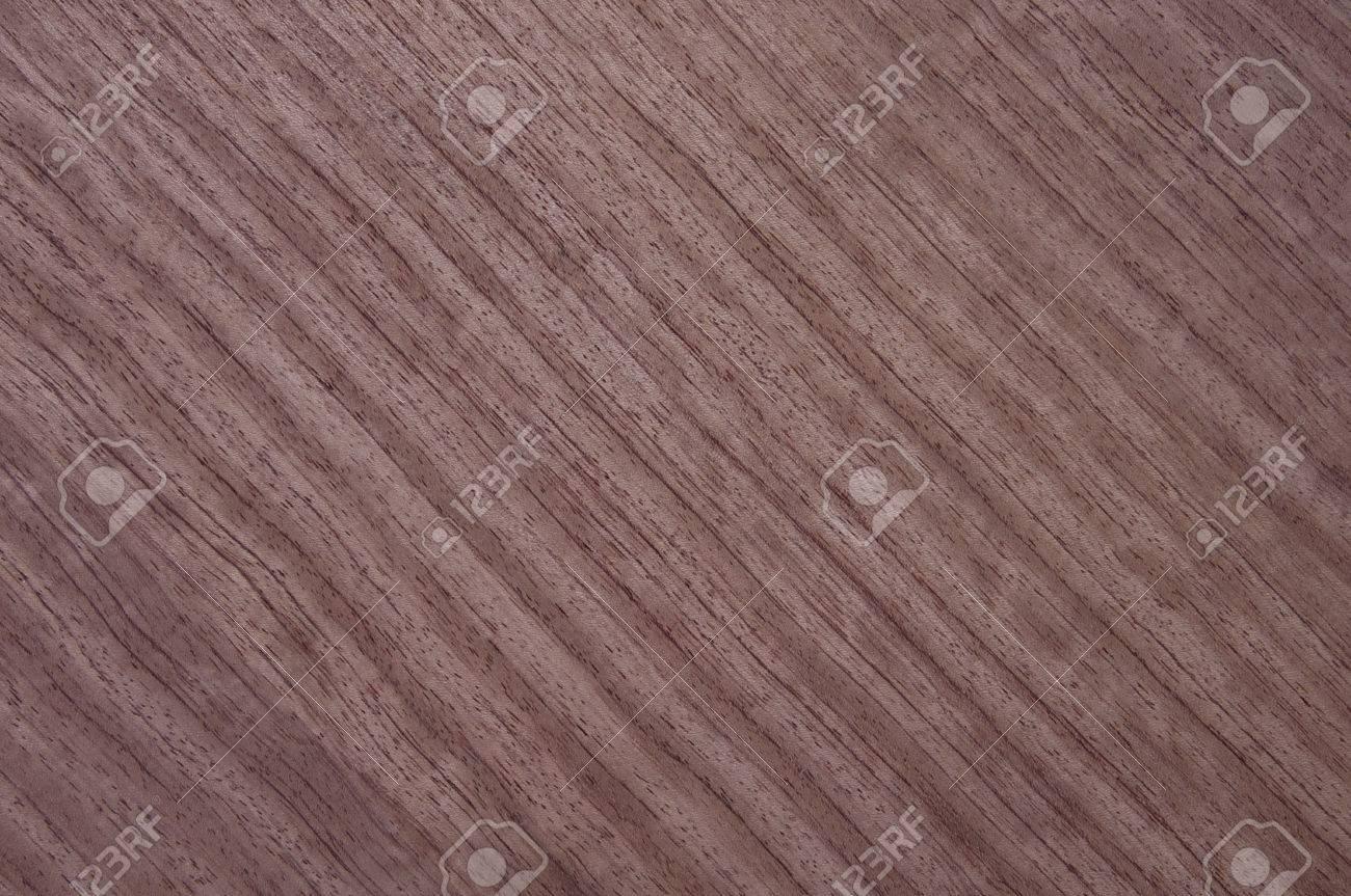 Natural Bubinga Wood Veneer Texture