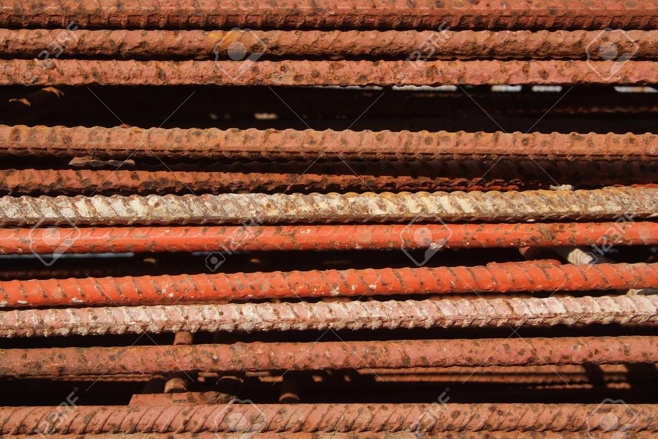 The surface of the steel is rust Stock Photo - 12918355