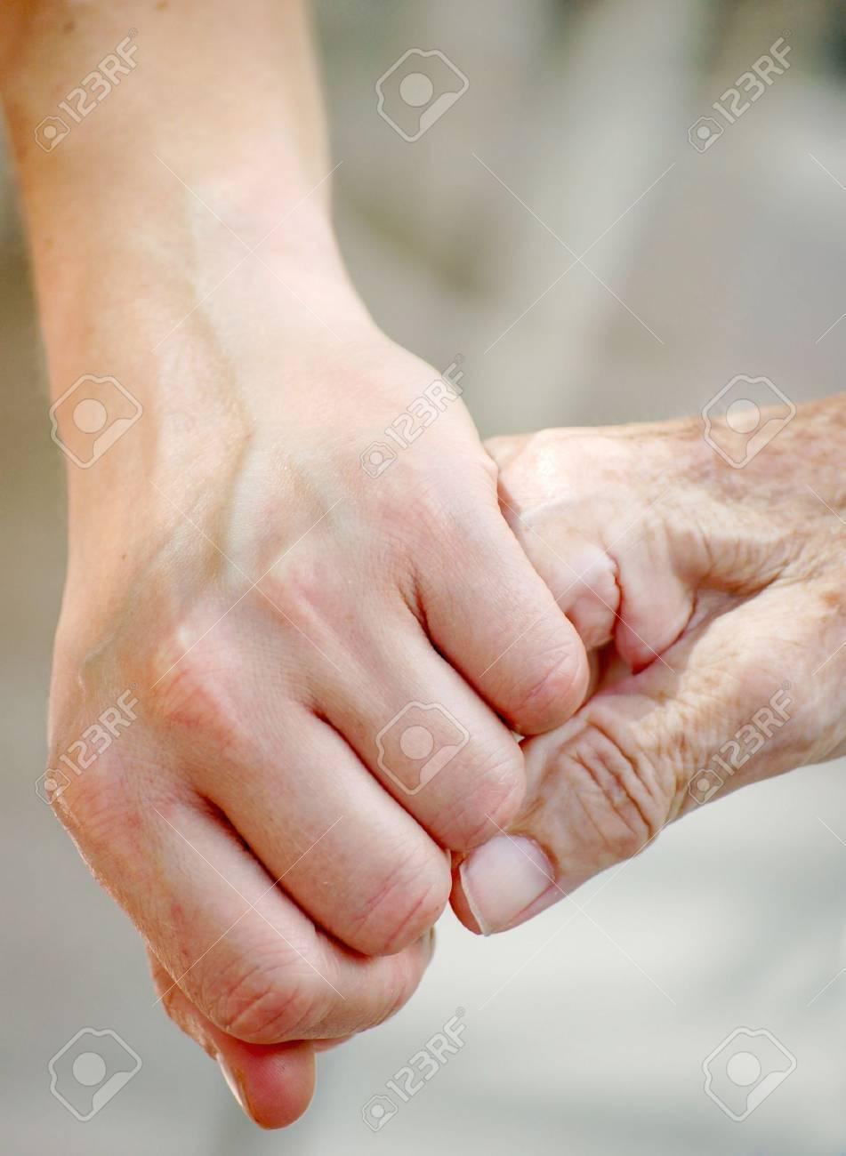 Helping the Senior Stock Photo - 5646481