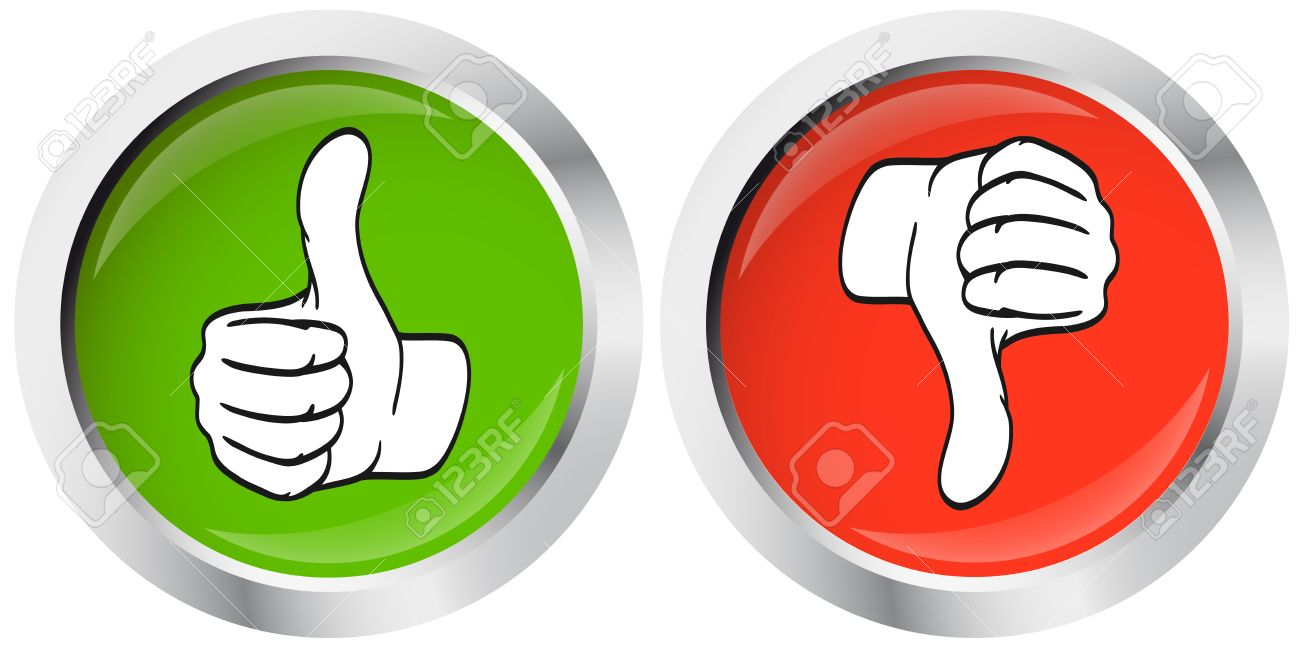 thumbs up thumbs down buttons royalty free cliparts vectors and rh 123rf com Thumbs Up Thumbs Down Design thumbs up thumbs down thumbs sideways clipart