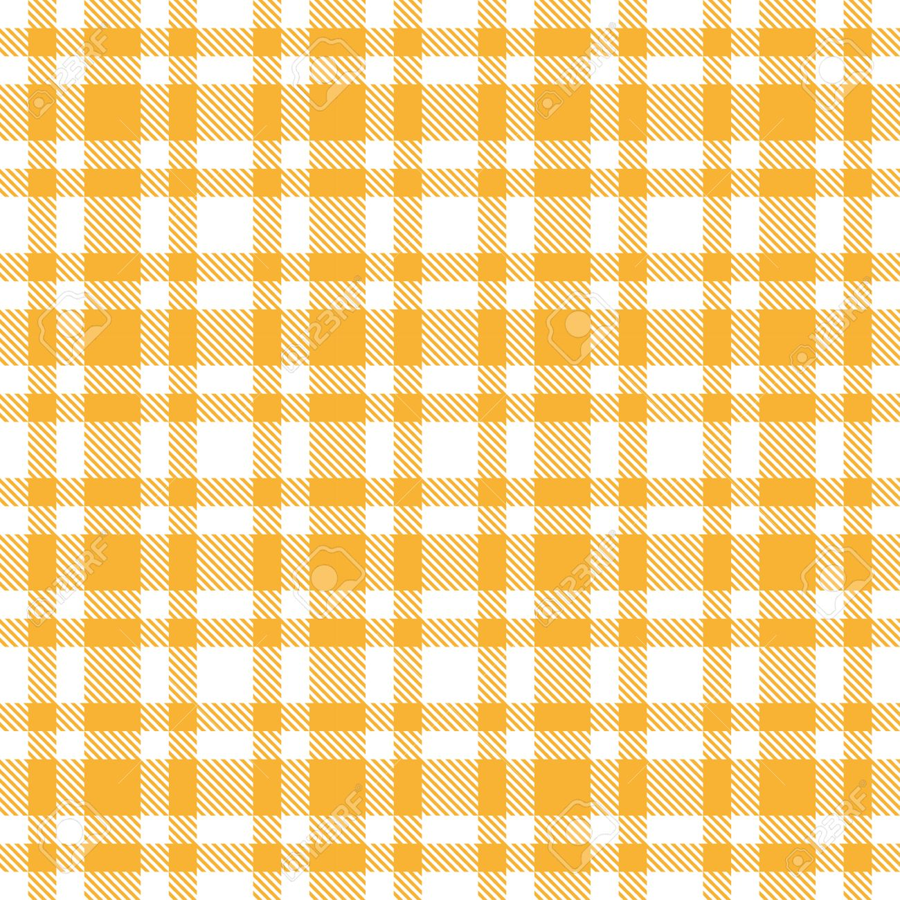 Exceptionnel Checkered Table Cloth Background Yellow Stock Vector   31625572