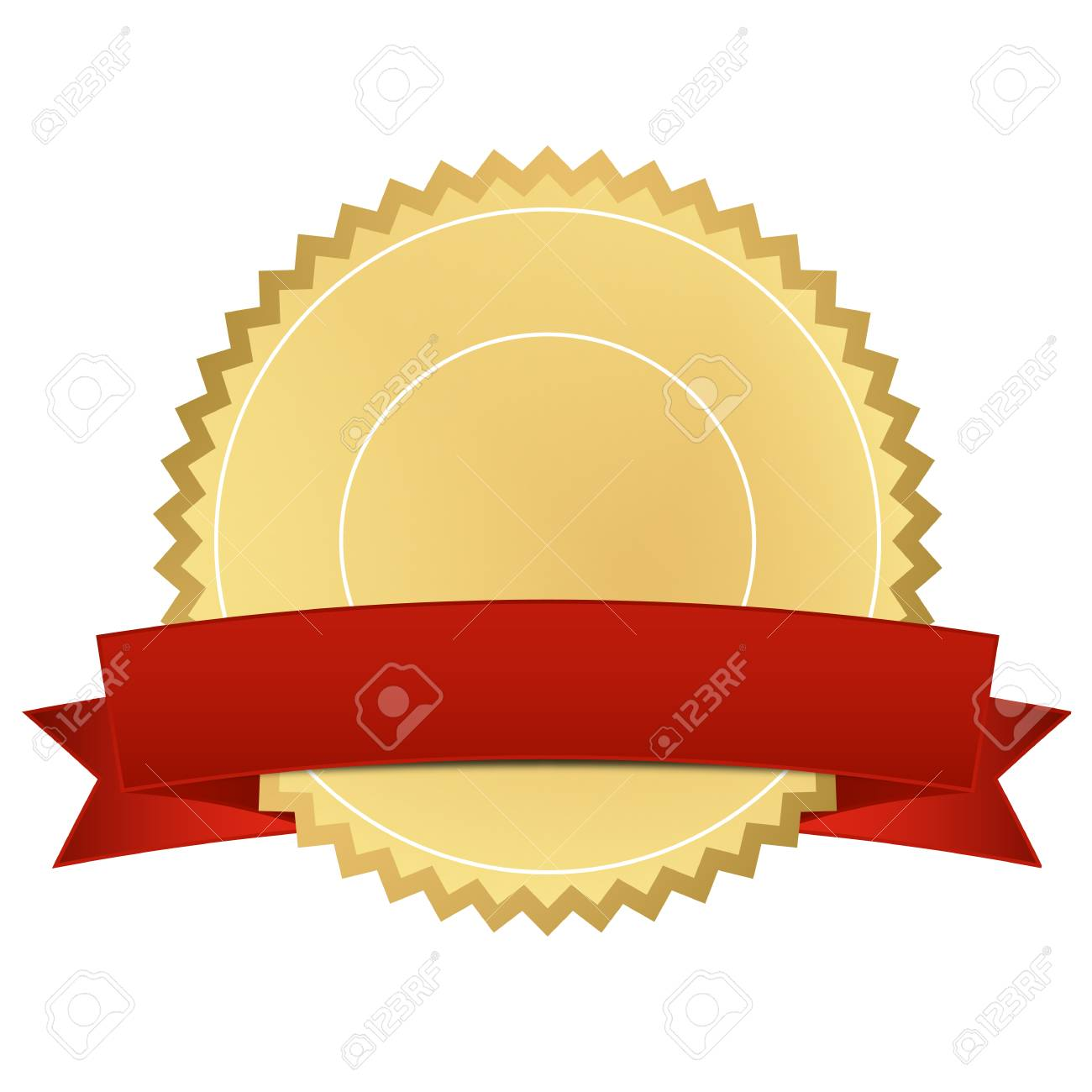 certificate with red banner royalty free cliparts vectors and rh 123rf com vector certificate vector certificate border
