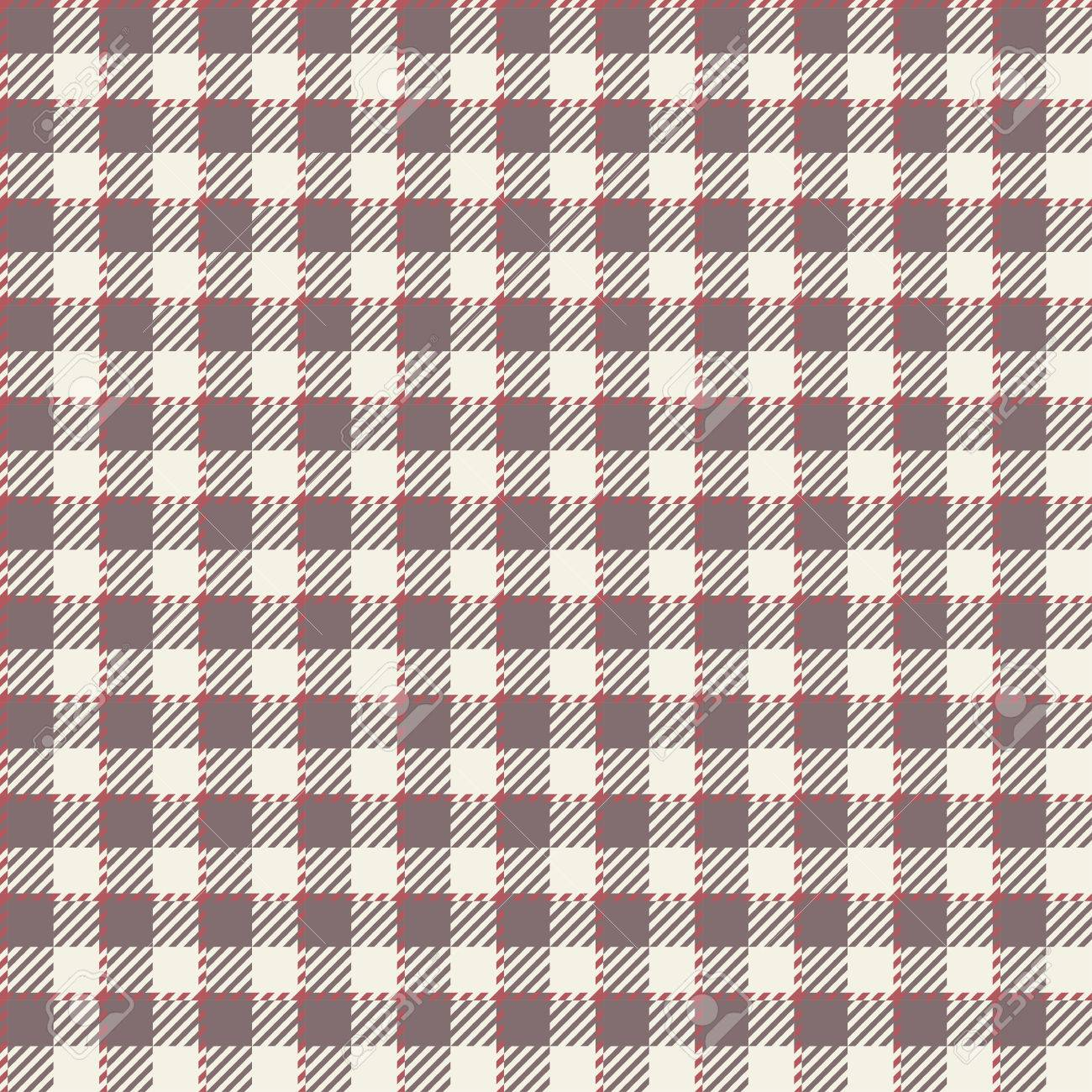 Ordinaire Seamless Brown Checkered Table Cloth Pattern For Background Design Stock  Vector   36056625