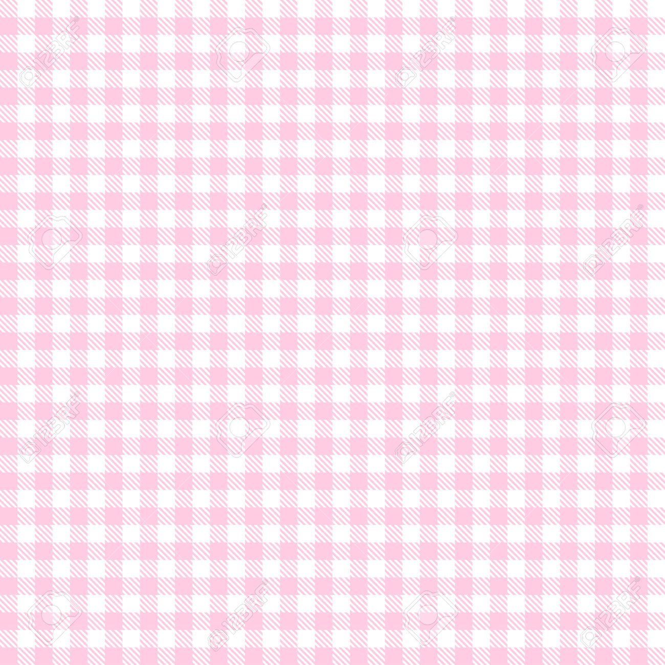 Endless Light Red Checkered Table Cloth Background Stock Vector   36830157