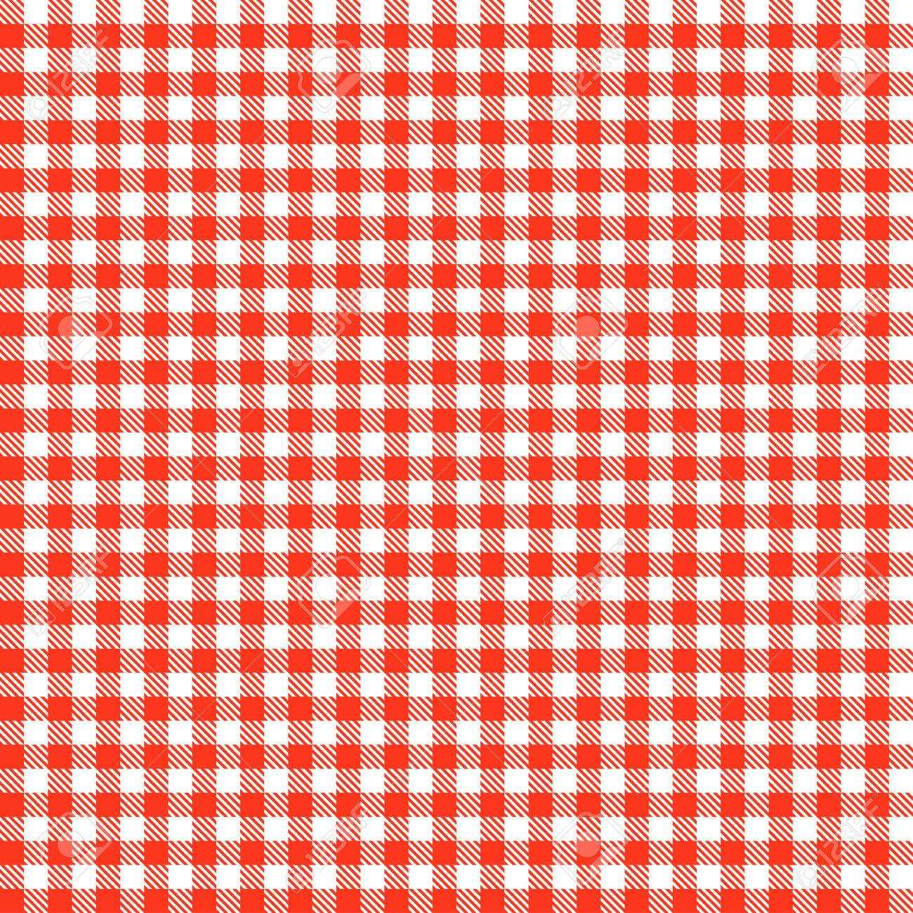 attractive Checkered Tablecloths Part - 6: Checkered tablecloths patterns RED Endlessly Stock Vector - 41386068