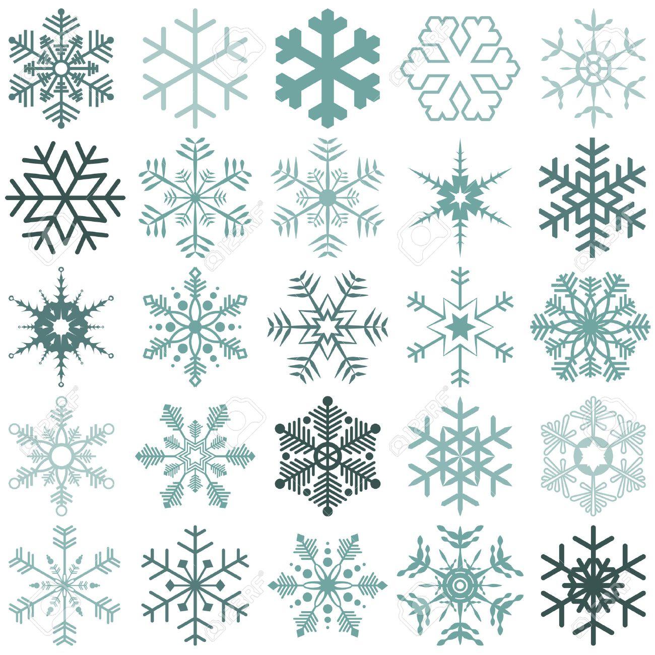 クリスマスの時期の異なる詳細な...