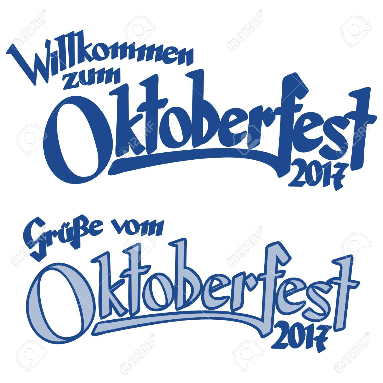 Blue and white header with text greetings from oktoberfest and blue and white header with text greetings from oktoberfest and welcome to the oktoberfest 2017 m4hsunfo
