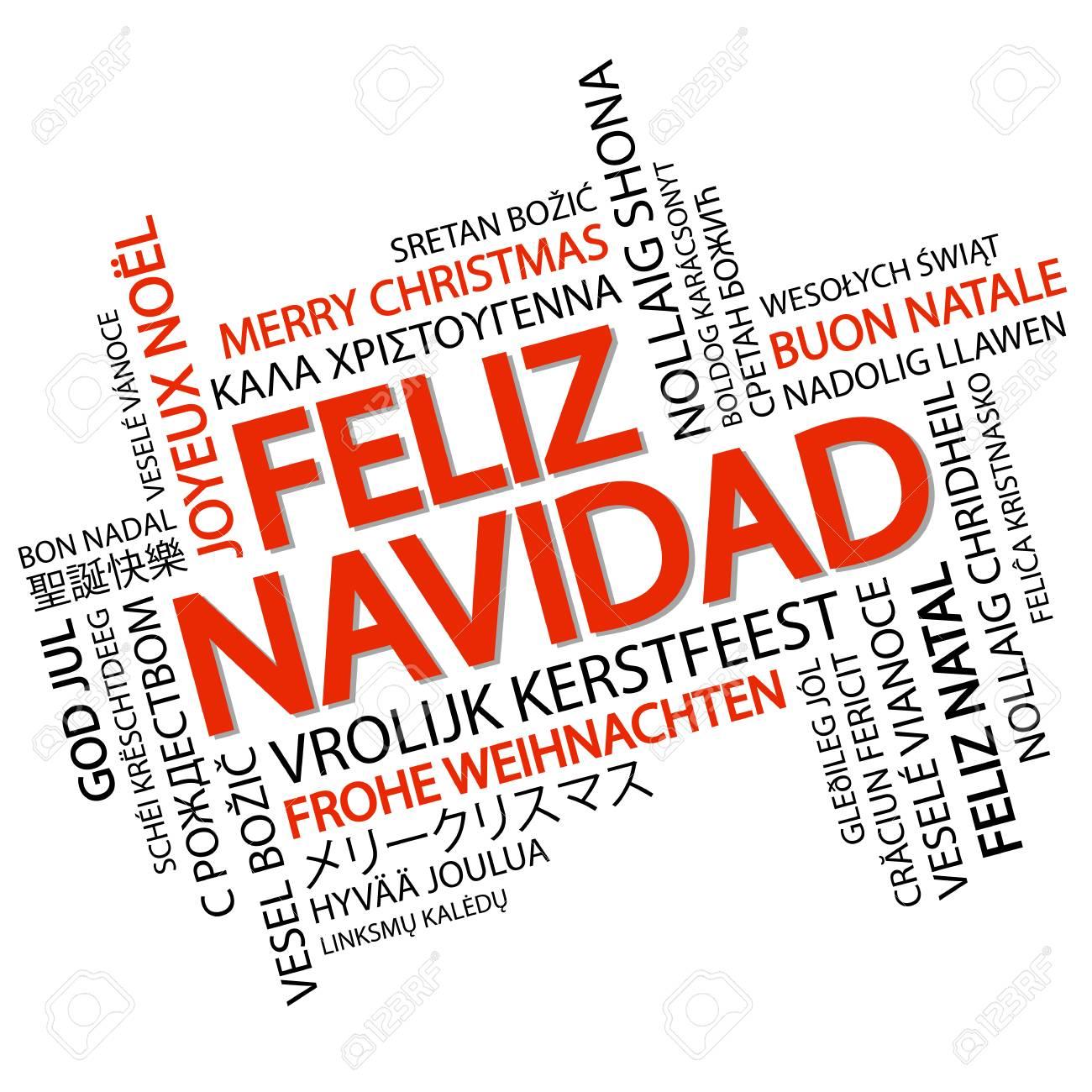 Resultado de imagen de feliz navidad en varios idiomas