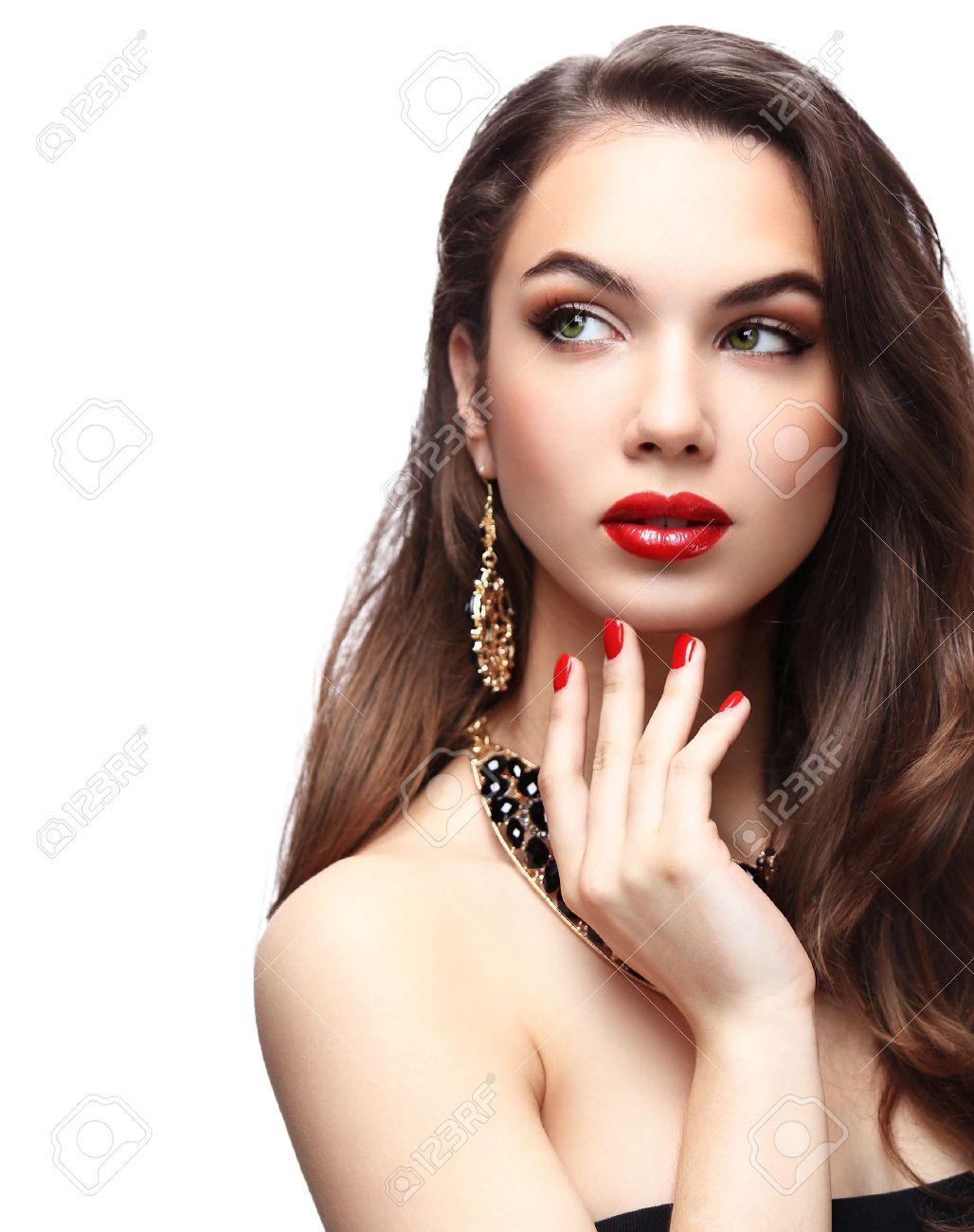 modelo maquillaje
