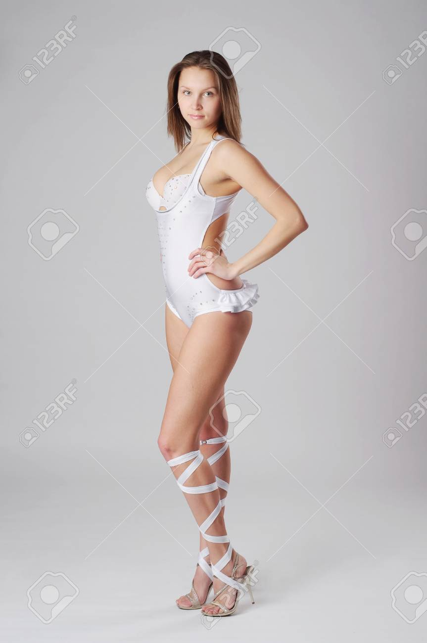 beautiful and stylish dancer is posing Stock Photo - 13071887