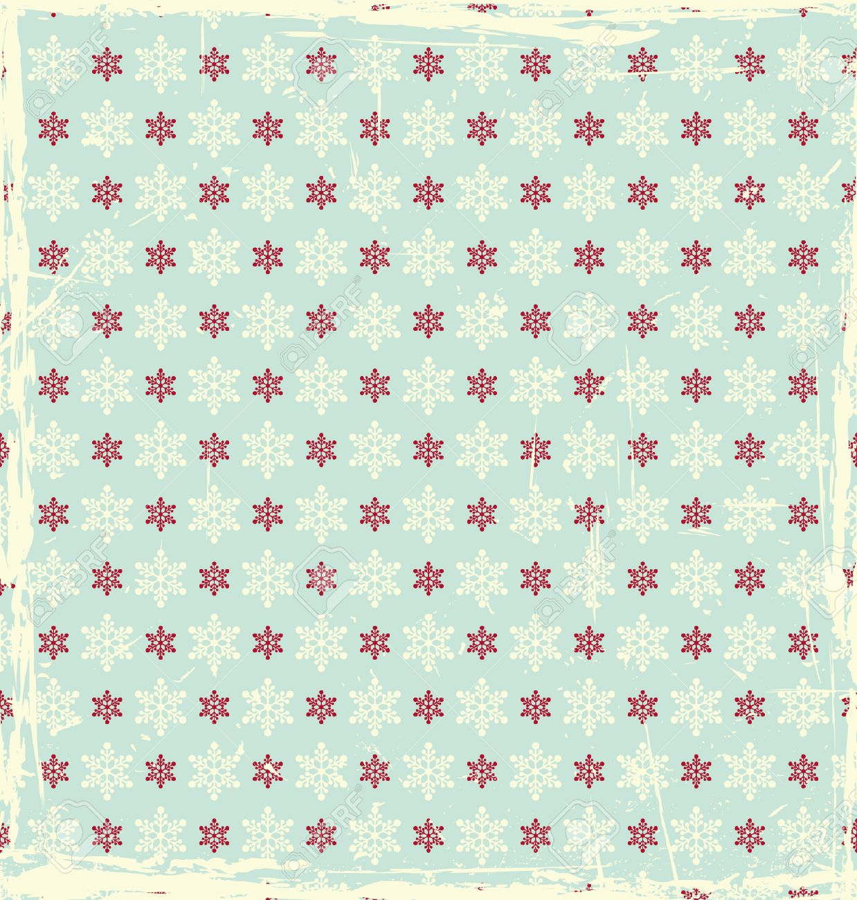Vintage Christmas Pattern Royalty Free Cliparts, Vectors, And ...