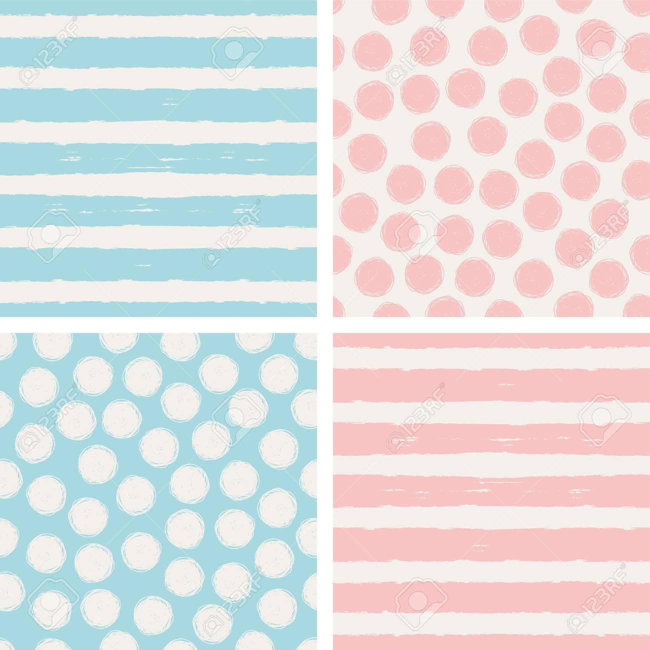 set of seamless patterns - 52334755