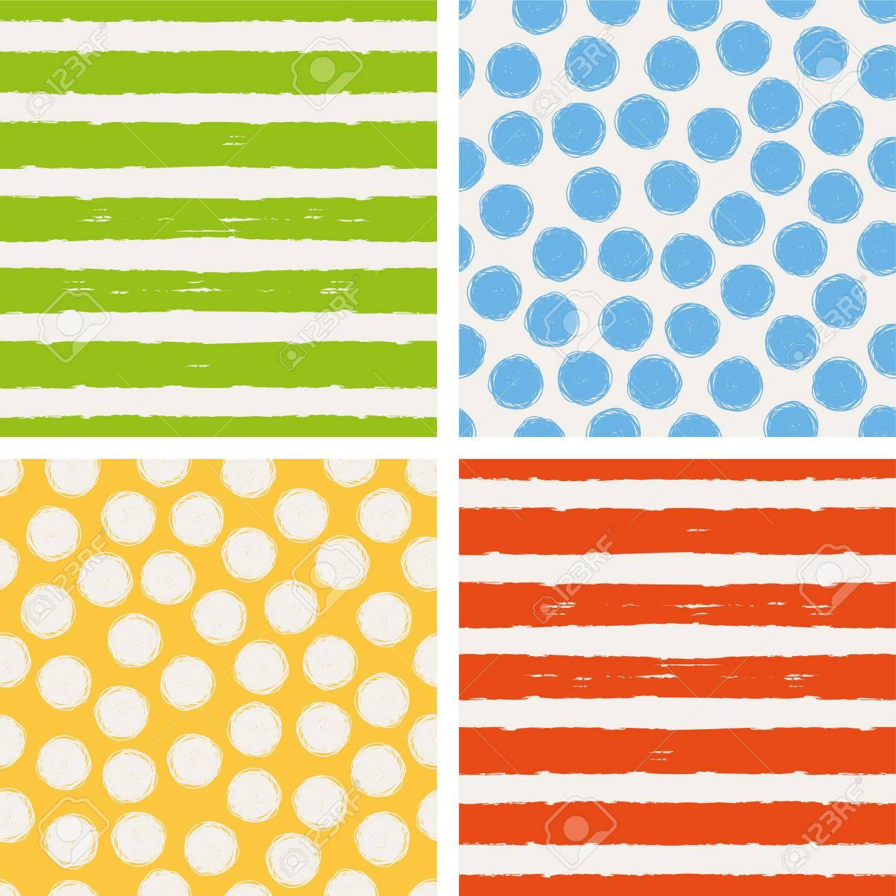 set of seamless patterns - 52260071