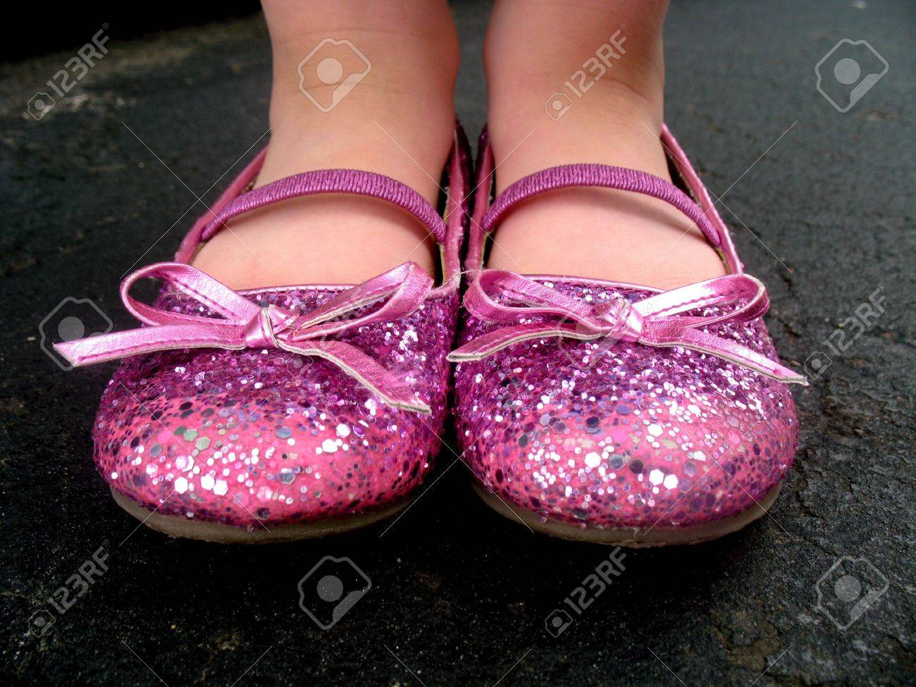 A Little Girl Is Wearing Pink, Sparkly