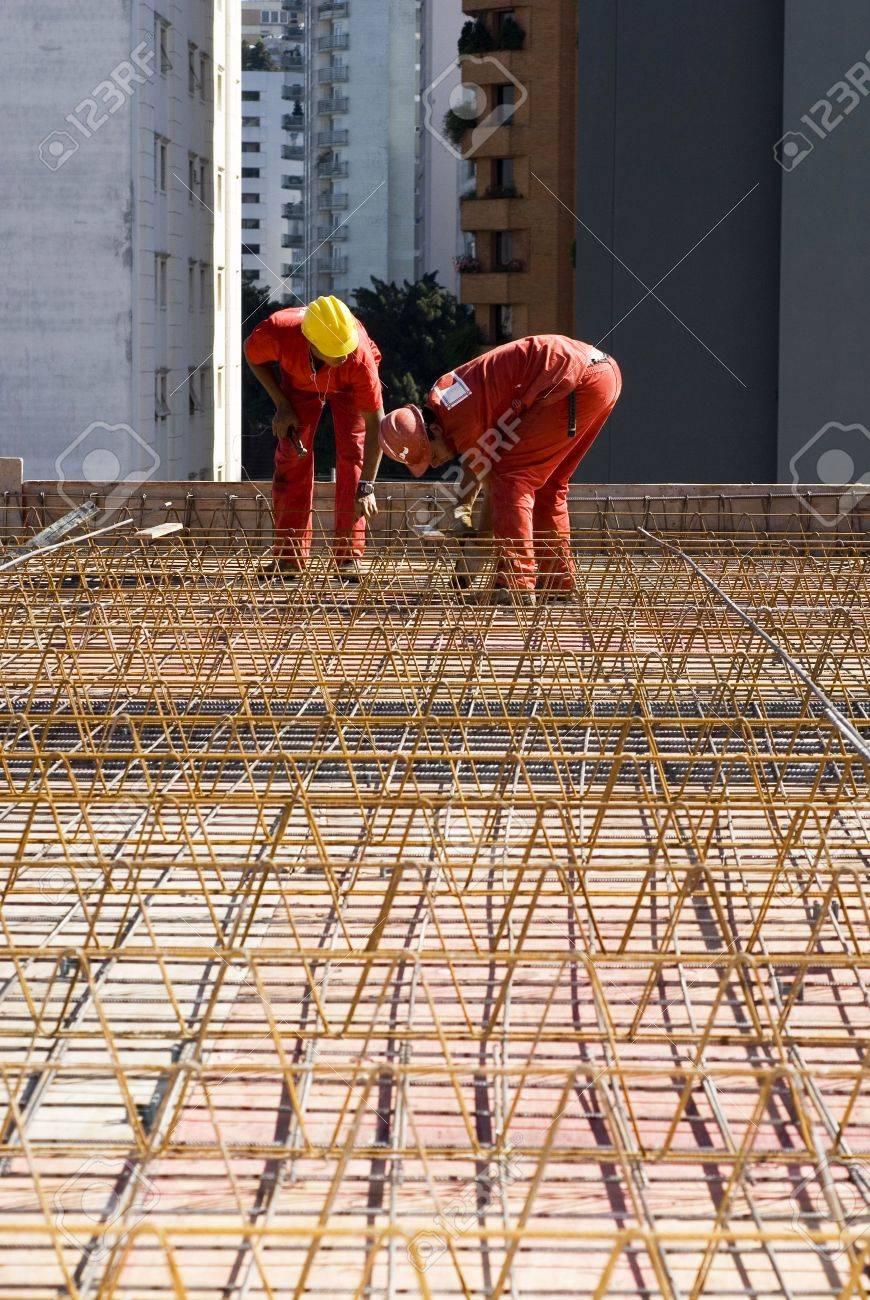 rebar worker resume cv cover letter 3441359 construction workers work together to install rebar vertically framed