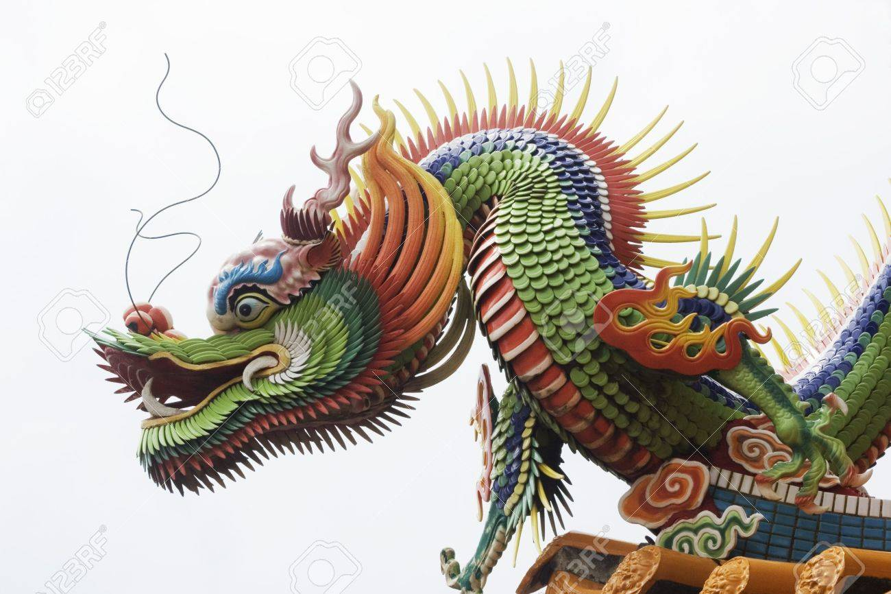 A close up of a temple dragon this is in the chinese style and has a close up of a temple dragon this is in the chinese style and has buycottarizona Choice Image