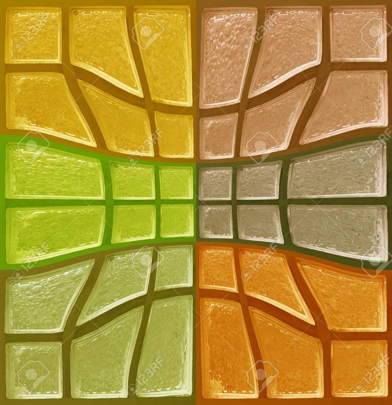 orange tone glass background Stock Photo - 13956517