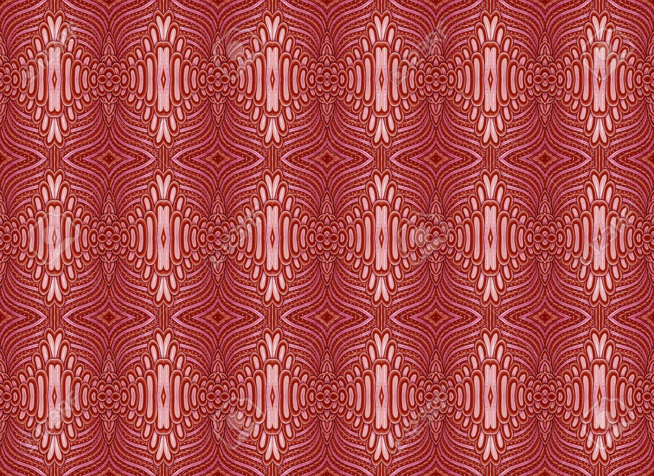 red pattern Stock Photo - 14311221