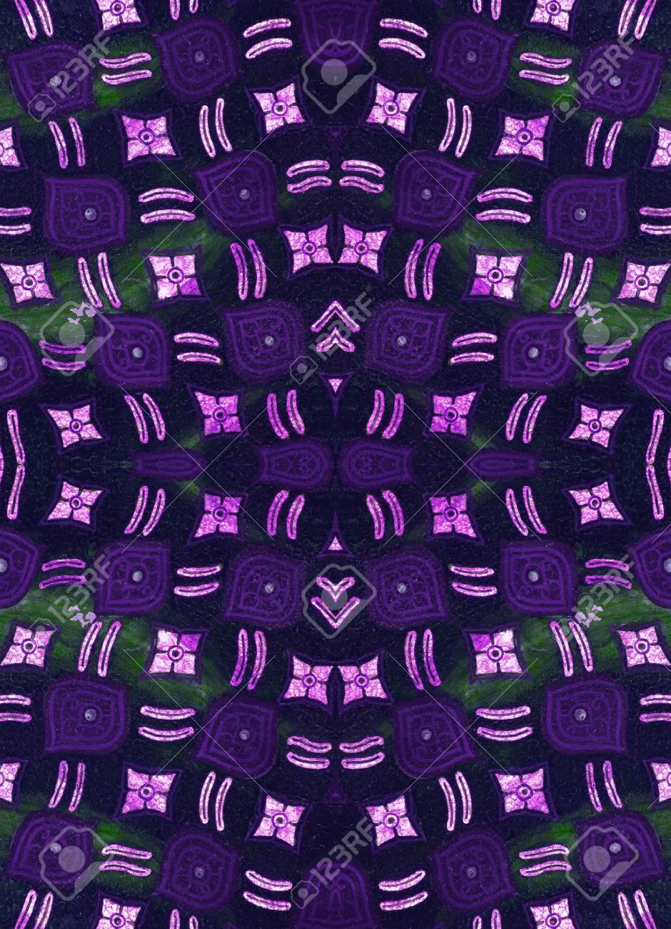 Seamless wallpaper pattern Stock Photo - 15451387