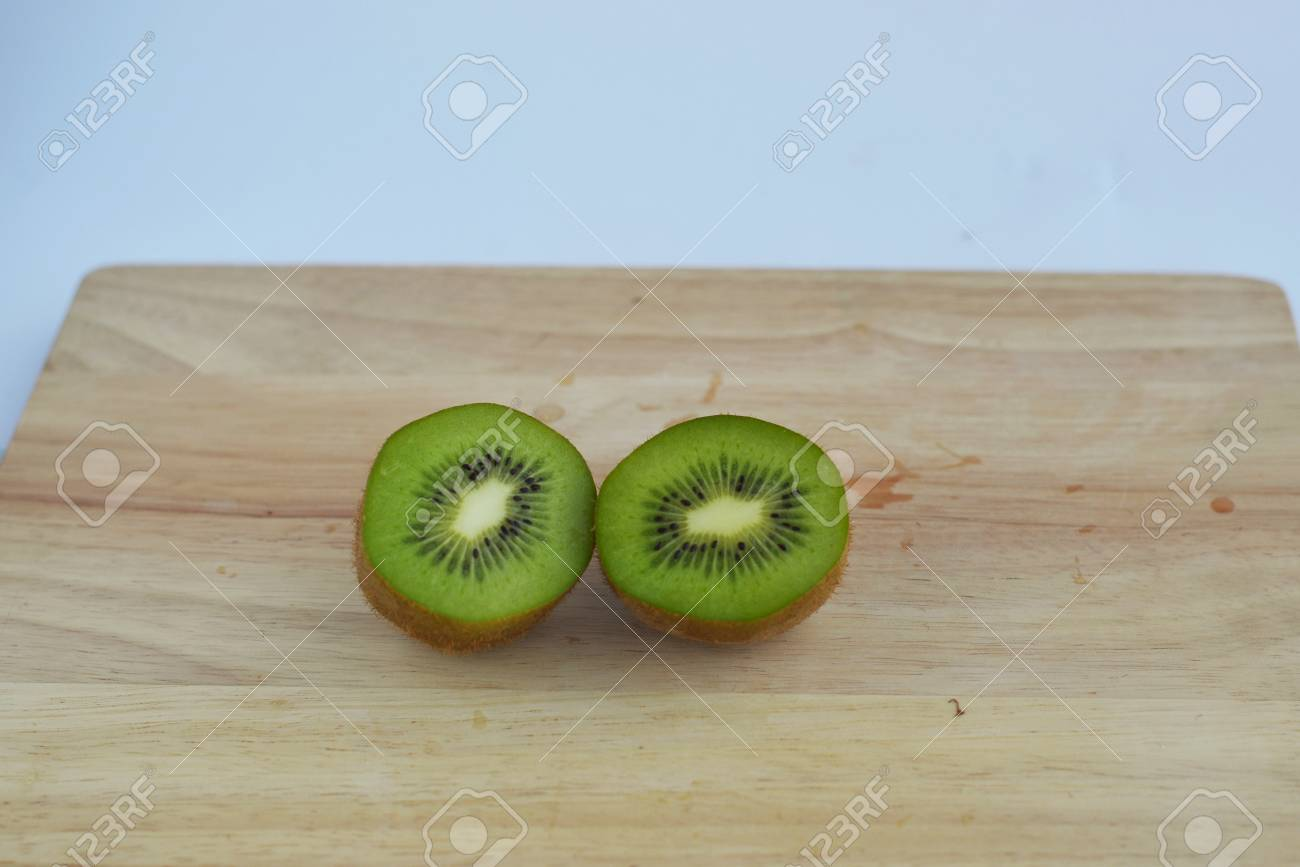 kiwi slide of kiwi fruit isolated stock photo picture and royalty