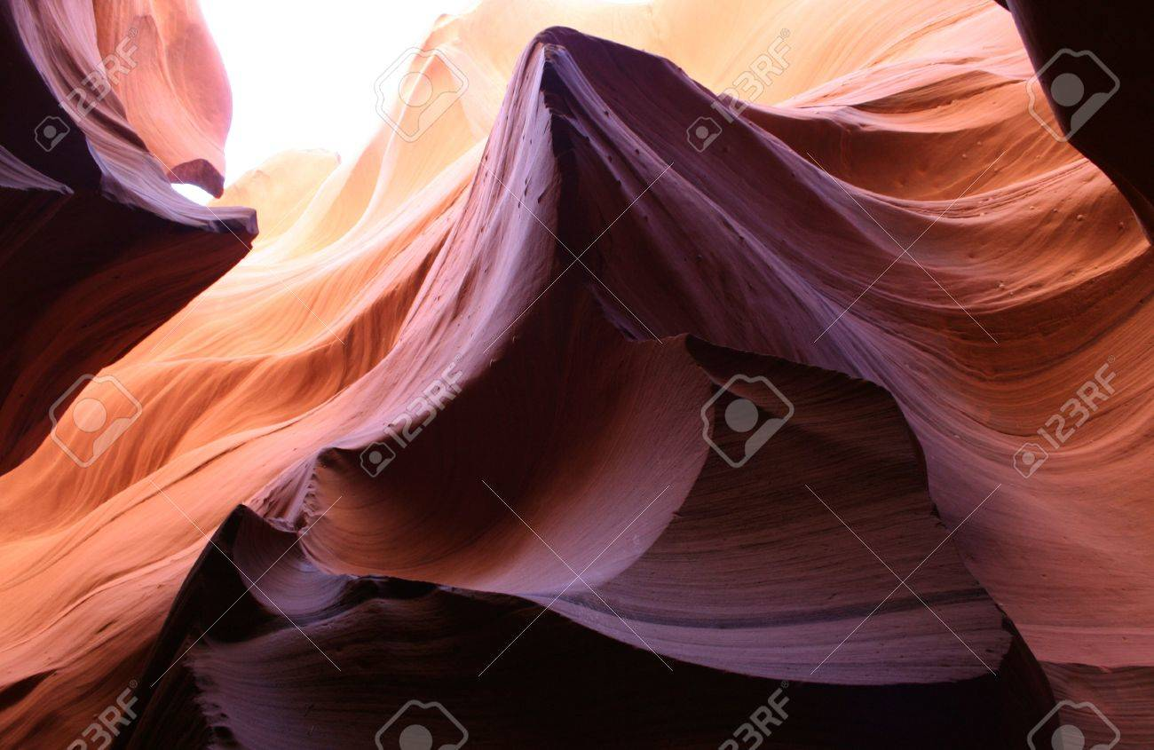 textures and colors of sand rock formation Stock Photo - 5198432