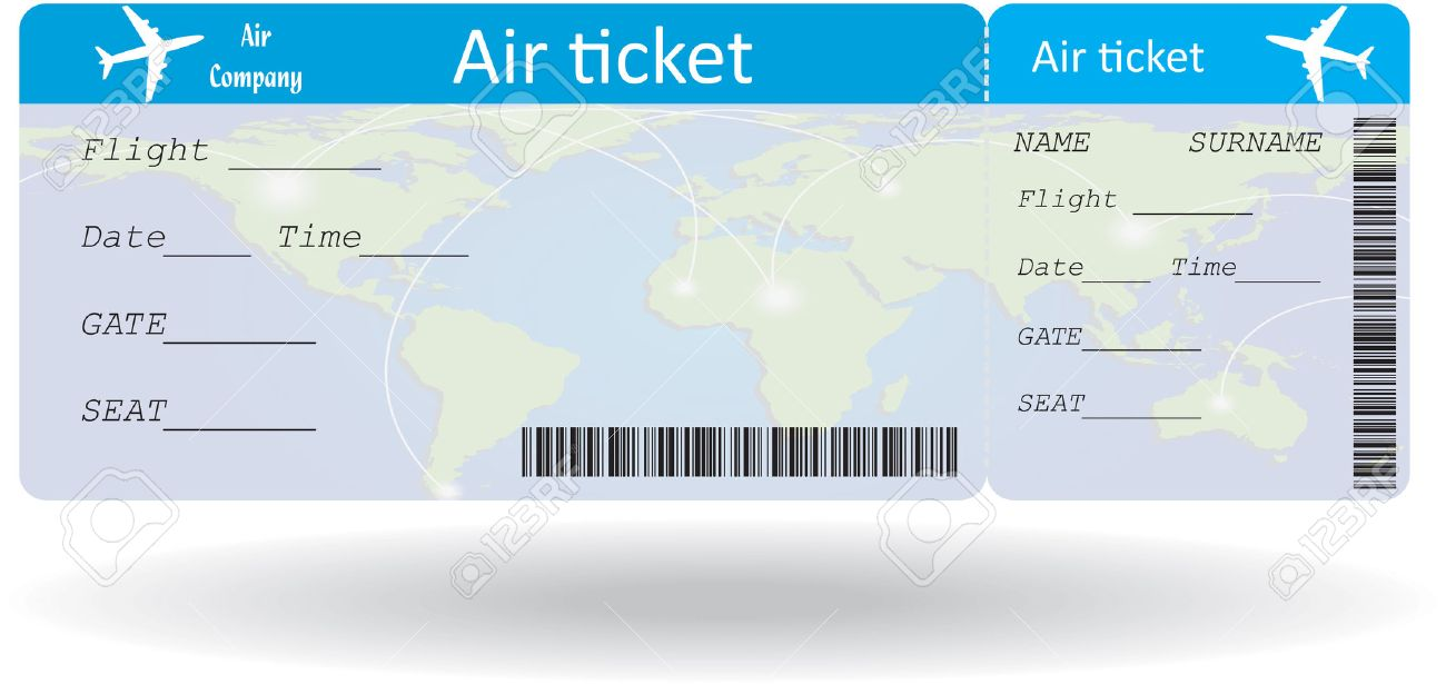 Doc600242 Template Airline Ticket Editable Airline Tickets I – Fake Plane Ticket Template