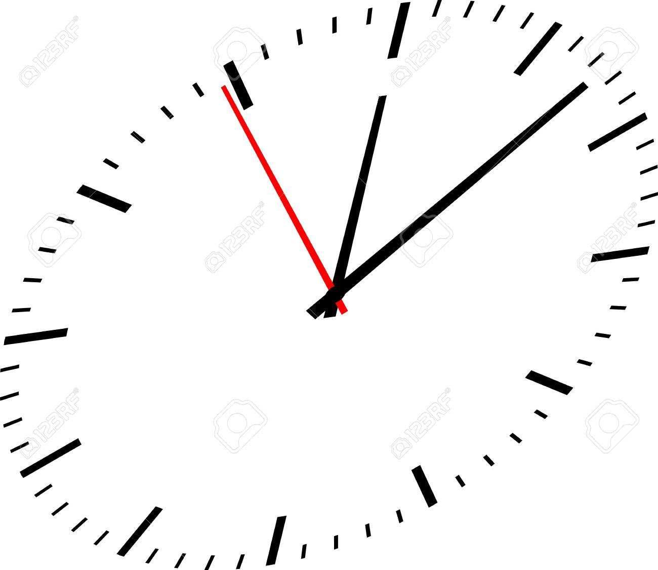 Clock image on white background - 148700271