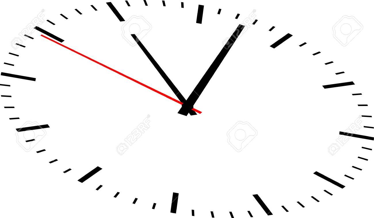 Clock image on white background - 148700277
