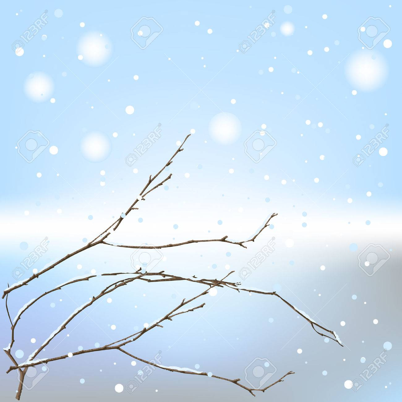 The winter background thread - 8257380