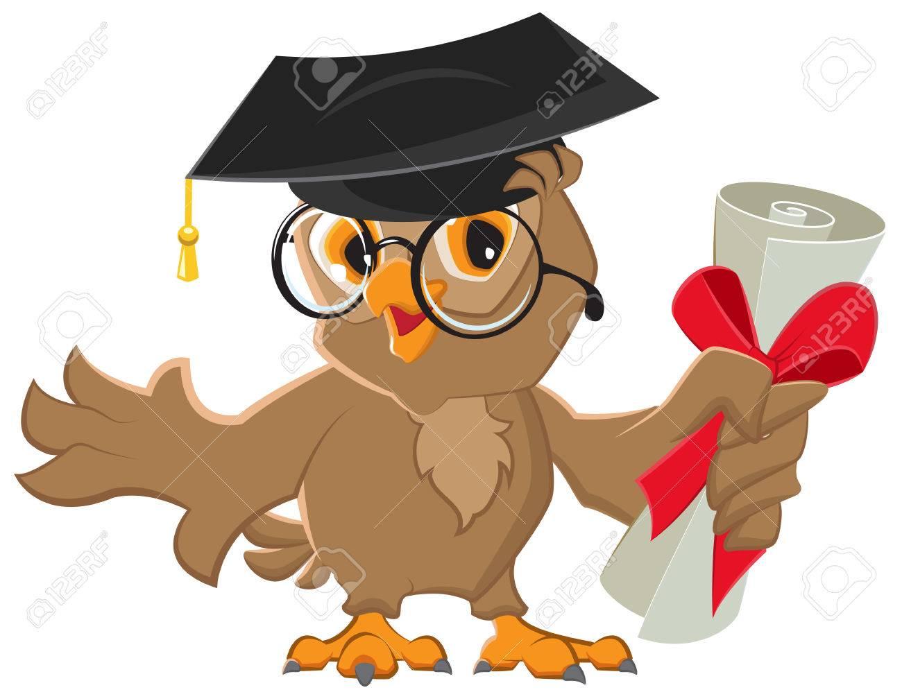 One owl diploma. - 33233861
