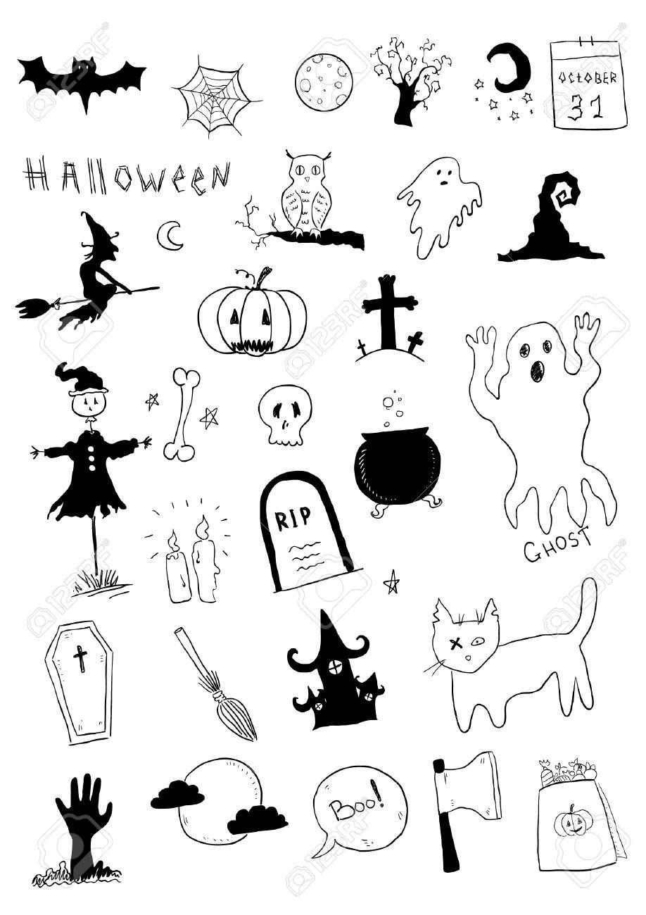 Halloween Symbols Royalty Free Cliparts, Vectors, And Stock ...