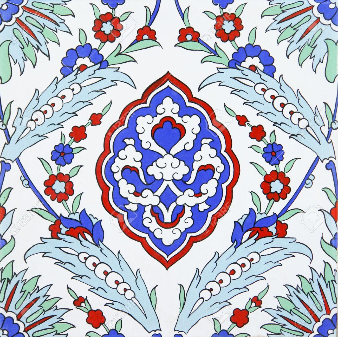 Turkish traditional wall tile Stock Photo - 9711810