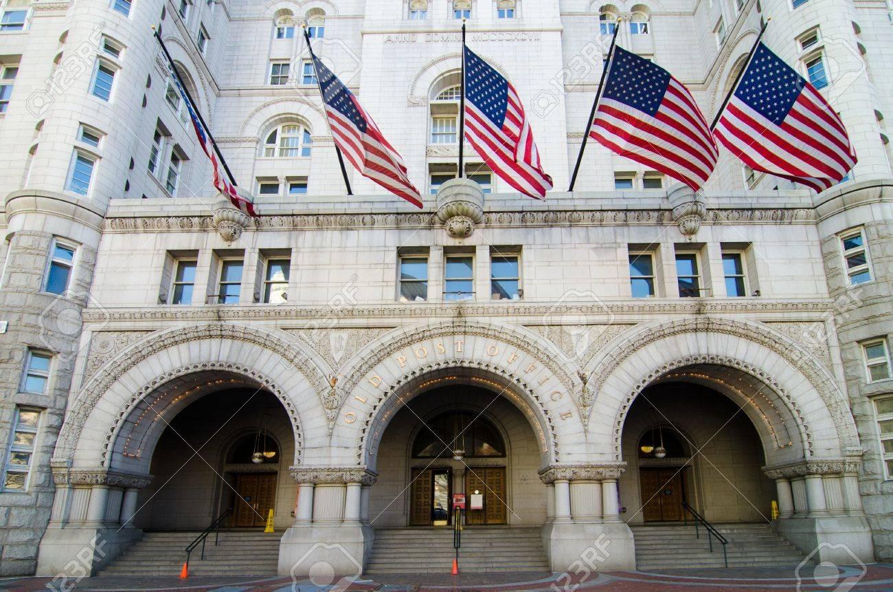 Washington DC, Old Post Office building Stock Photo - 11600335