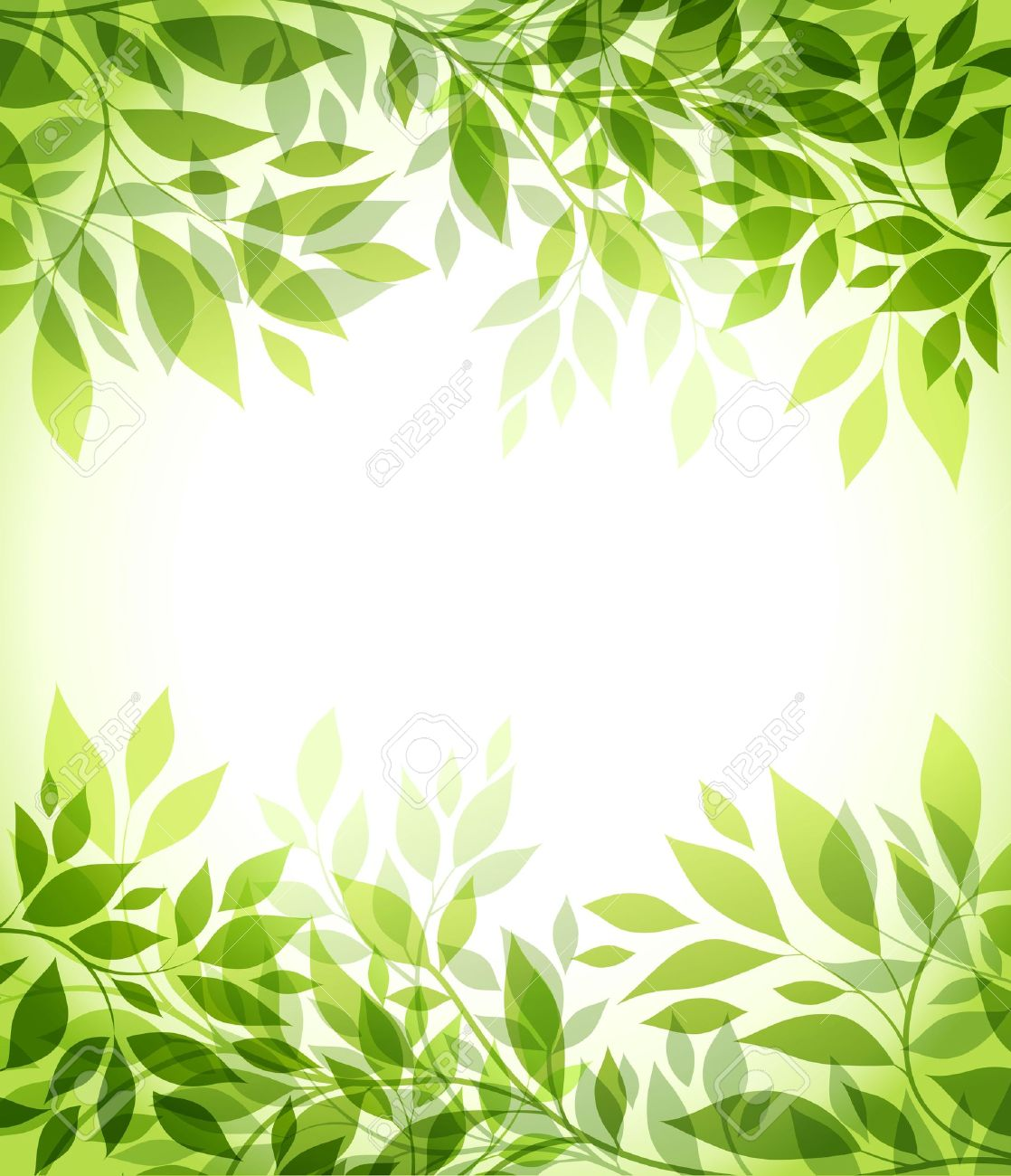 abstract background with green sheet - 13233355