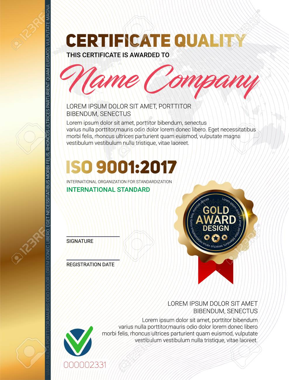 Certificate quality template royalty free cliparts vectors and certificate quality template stock vector 90880000 yelopaper Gallery
