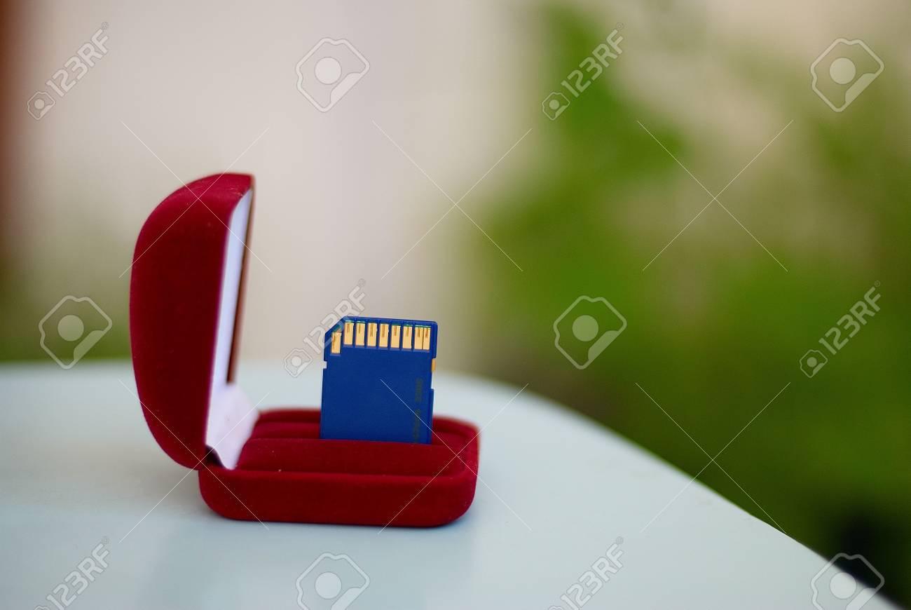 Flash card Stock Photo - 7428318