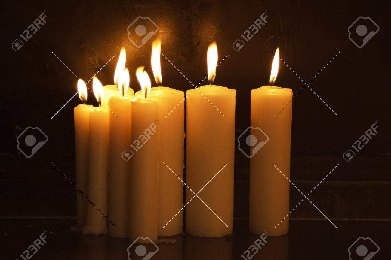 ROmantic candles Stock Photo - 15800232