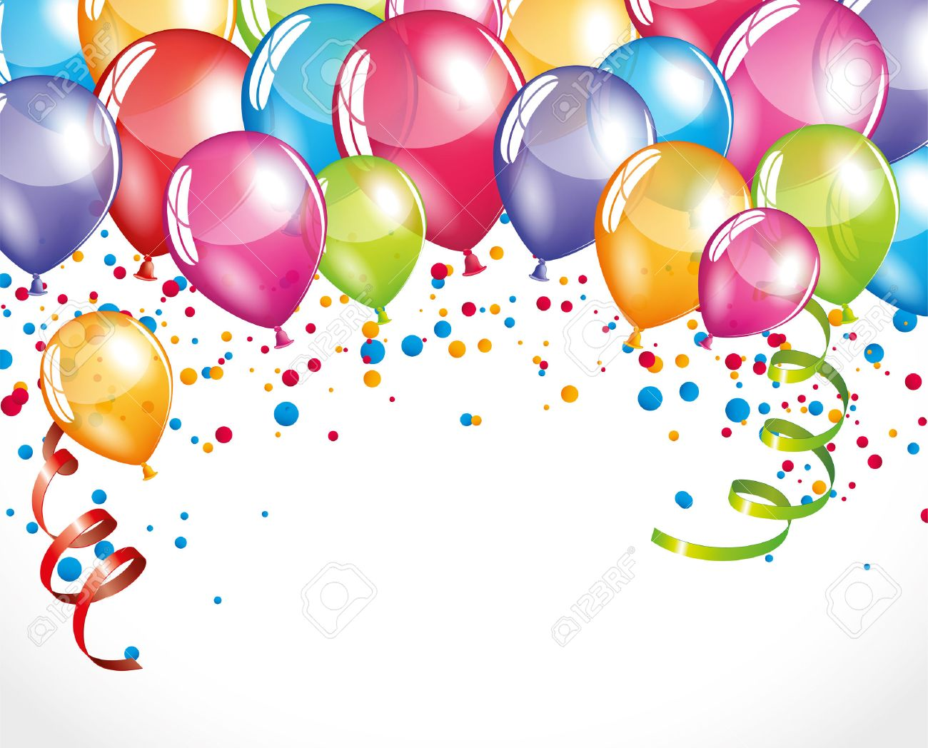 Balloons background - 44734637