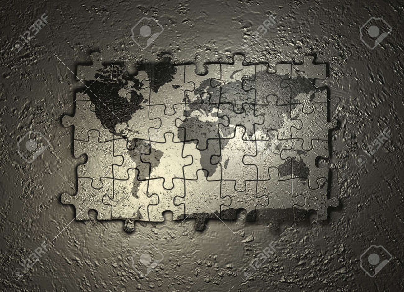 Best Image Of Diagram World Map Wall Puzzle More Maps Diagram - Chicago map puzzle
