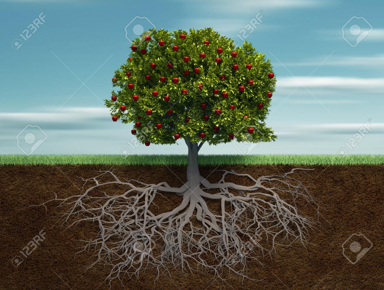 Fruiter - this is a 3d render illustration - 8628440