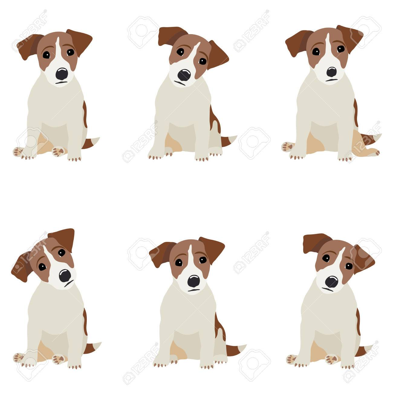 Jack Russell Terrier. Vector Illustration of a dog. - 69113401