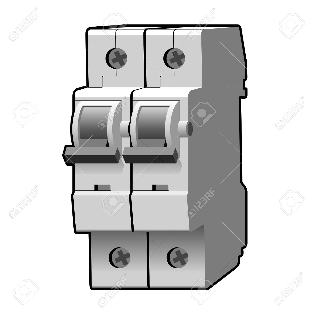 Molded case circuit breaker royalty free cliparts vectors and molded case circuit breaker stock vector 69148713 buycottarizona Images