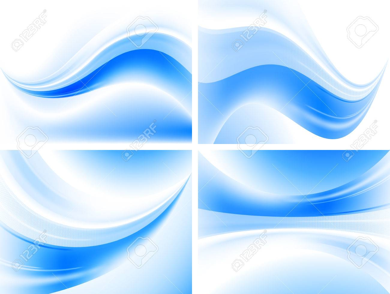 set of simple abstract backgrounds royalty free cliparts, vectors