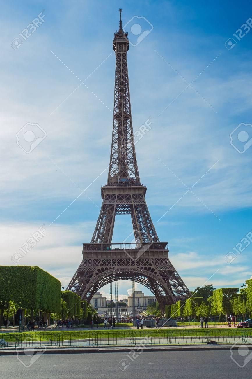 Eiffel Tower in Paris , France Banque d'images - 30713007