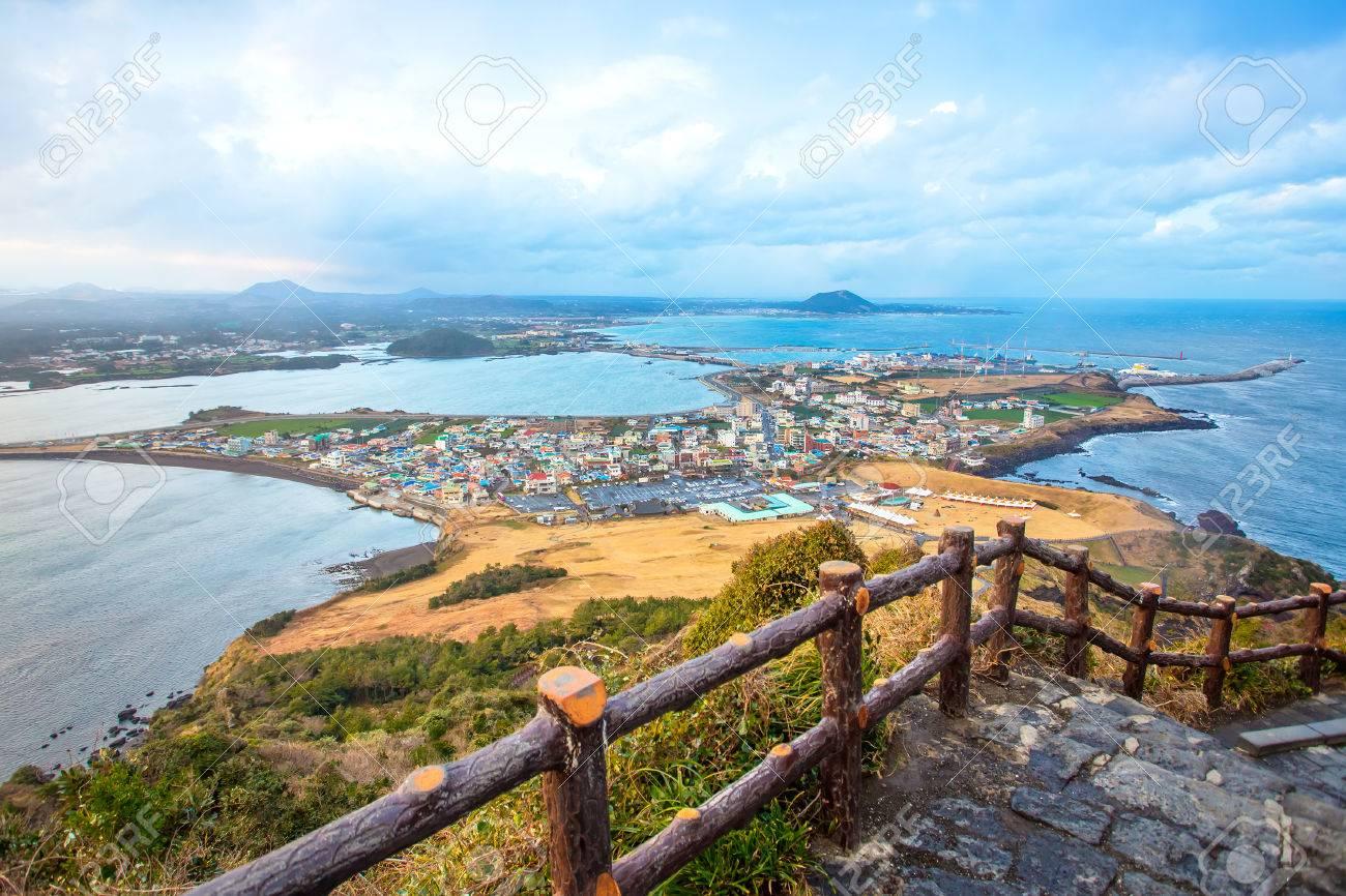 Jeju do beach Island, South Korea Banque d'images - 31589137