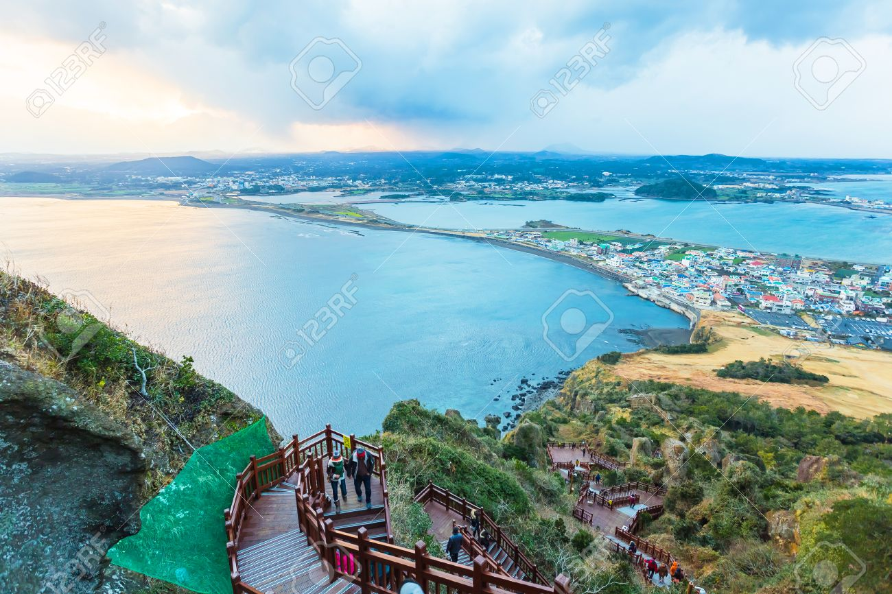Jeju Island Beach do, Corée du Sud Banque d'images - 31589140