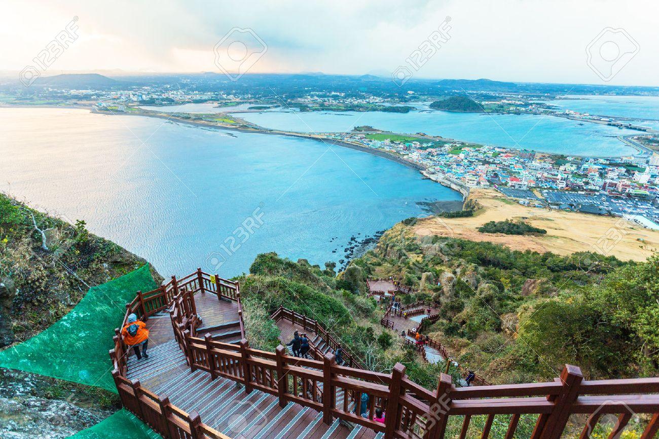 Jeju Island Beach do, Corée du Sud Banque d'images - 31589143